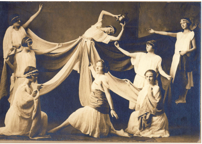 1925 Dancers at the Medallion Opera House, Gorham, NH