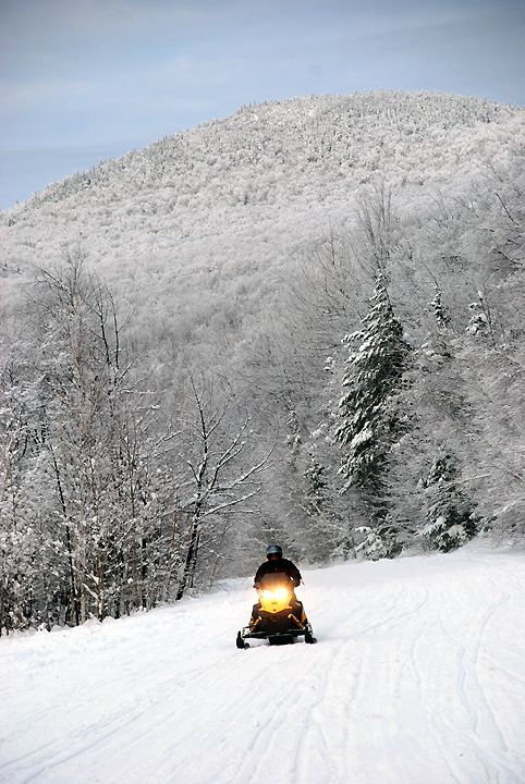 snowmobiling in the Gorham NH area